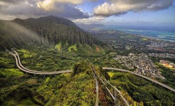 ВИДЕО Hilife. Лестница в небеса на острове Оаху: тропа для самых смелых