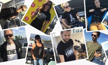 VIDEO: Raadio 2 kutsub bändisärgilaadale. Tule ja osta oma lemmikartisti käest tema bändi särk!