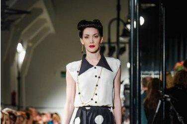 """322e57e7894 FOTOD: Tiina Talumees esitles elegantset autorikollektsiooni """"Must valges"""""""