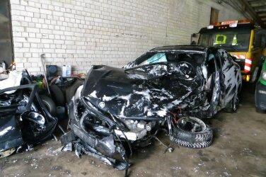 f55dae7151b Pärast liiklusõnnetust taastatud auto võib osutuda ohtlikuks romuks