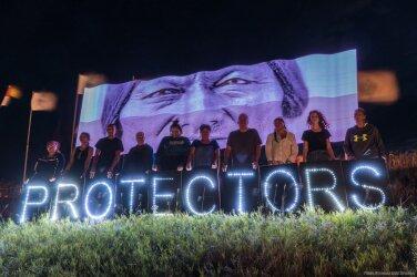 873d85e2e01 Tallinnas toimub rahumeelne meeleavaldus Põhja-Dakota naftajuhtme vastu  olevate indiaanlaste toetuseks