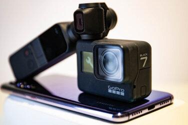 9f8efa01e09 Kolme populaarse tasku-stabilisaator-kaamera test - Gopro 7 vs Osmo Pocket  vs Huawei P20 Pro