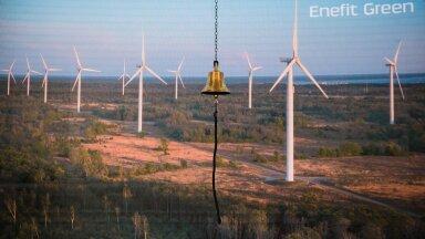 Enefit Greeni aktsia lõpetas päeva paar protsenti madalamal.
