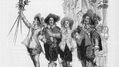Dumas' musketärid (Foto: Wikimedia Commons / Maurice Leloir)
