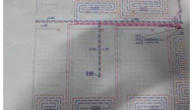Terviseameti külmaruumide põrandakütte skeem