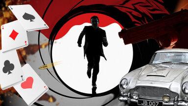 INTERAKTIIVNE LUGU | James Bondi maailm arvudes ja detailides: ulmelised autod, üüratu arv hurmavaid sekspartnereid ning verine ajalugu