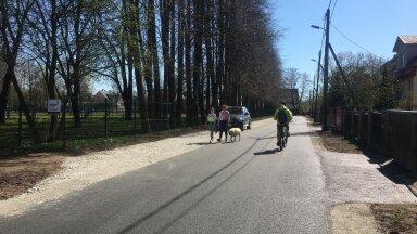 Palju asfalti ja killustikku – Kristiine värskelt lõppenud teeremont