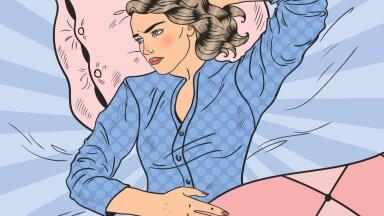 Uni ei tule, ärkad öösiti mitu korda üles? Siin on mõttetehnikad, mis vaigistavad ärevuse ja sa uinud mõne minutiga