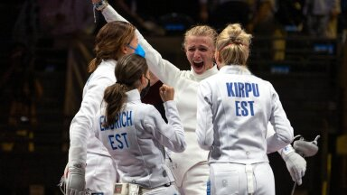 OTSEBLOGI JA FOTOD   13 aastat ootust on läbi! Eesti võrratu epeenaiskond võitis Tokyos raskes lahingus KULLA!