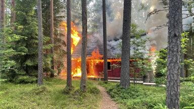 Selgus käes: millest süttis RMK Kilingi-Nõmme metsamaja