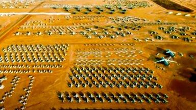 VIDEO | Vaata, mis toimub maailma suurimas lennukite surnuaias, kus puhkab üle 3000 lennuki