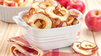 Kuivatatud õunad