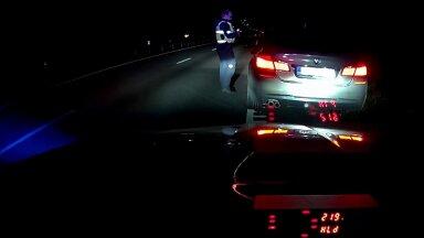 FOTO   BMW juht kihutas ligi 220 km/h. Karistuseks kuus päeva aresti