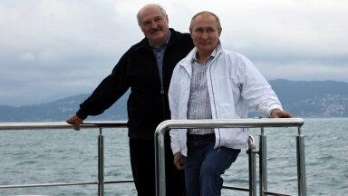 Lukašenka ja Putin merereisil