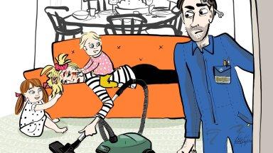 Lapsehoolduspuhkusel olev isa: juba paari nädalaga hakkas häbi naisele varem öeldud lausete pärast