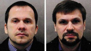 Luurajad, kes kasutasid varjunimesid Alexander Petrov ja Ruslan Boshirov
