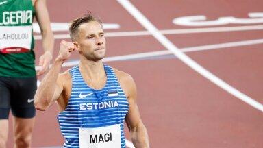 Rasmus Mägi Tokyo olümpia poolfinaali järel.