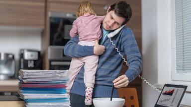 Maria blogi: hea, kui mees lastega kodukontorisse jääb, siis saab tema ka sellest natuke maitset suhu