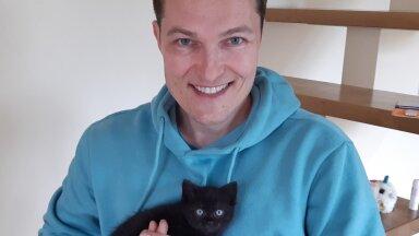 Lauri Hermann ja kass Hanna