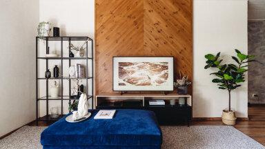 ФОТО   Дизайнер интерьеров советует: в моде сейчас декоративные панели за телевизором