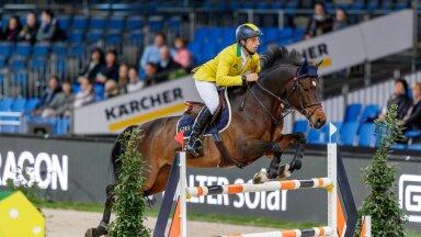 Eesti hobustest hinnatakse Tokyo olümpial parimaks Yuri Mansuriga Brasiilia koondises võistleva Alfons Ra šansse.