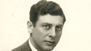 Mustpeade vennaskonna liige Klaus Scheel. Foto on tehtud 1914. aastal.