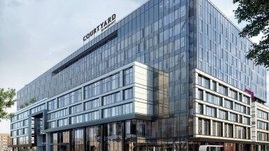 Courtyardi kaubamärgi hotell on USA hiiglase üks vanimaid. See tähendab nelja tärni ja konverentsihotelli.