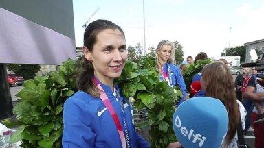 INTERVJUU   Olümpiakullaga Eesti kõigi aegade suurimaks medalivõitjaks tõusnud Irina Embrich: pinge oli suur, aga kõik läks hästi