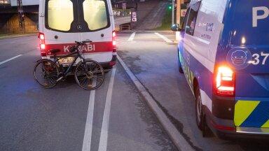 Ootamatult lõppev jalgrattatee, mis saatis noormehe haiglasse