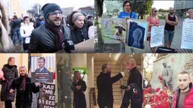 KES TEEB, SEE JÕUAB. Martin Neiman on kohal kõigil olulismatel ja vähemolulistel protestiüritustel, seda korduvalt ühes seltskonnas Eesti Vanemate MTÜ delegatsiooniga.