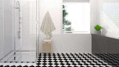 Häid nippe, kuidas vannitoa klaaspinnad säravpuhtaks saada