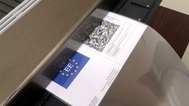 Immuniseerimise tõend, EL digitaalne COVID tõend, väljaprint