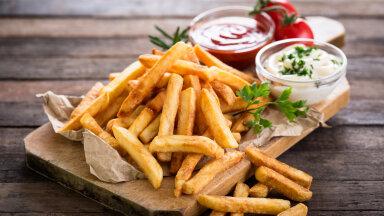 Ülim lohutustoit jahedasse sügispäeva! Valmista kodus sama krõbedaid ja maitsvaid friikaid nagu McDonald'sis