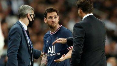 Lionel Messi peab pidama vigastuspausi.