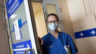 Kadi töötab õena Ida-Tallinna Keskhaigla kolmanda astme intensiivravi osakonnas, kuhu jõuavad kõige raskemalt haiged.