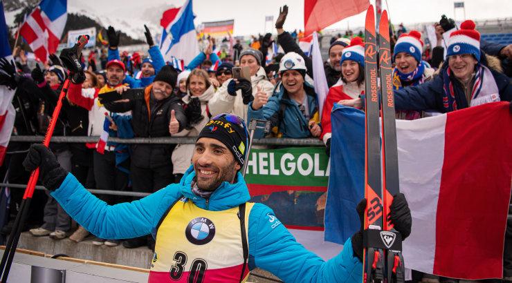 Домрачева стала пятой в спринте на стартовом этапе Кубка мира в Швеции