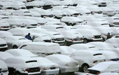Запуск машины в холодную погоду