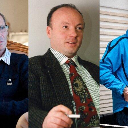 Олег Лядов, Майт Метсамаа, Вячеслав Гулевич