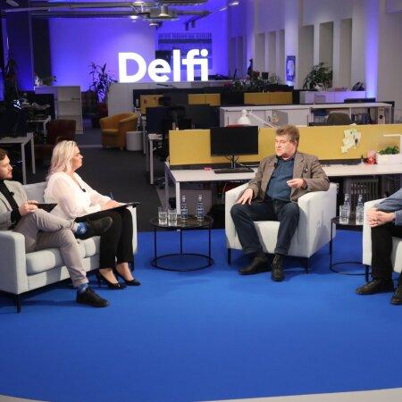 OTSESAADE ja BLOGI I | Delfi otsesaade alustas! Indrek Saar: noored valijad on väga informeeritud