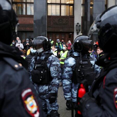 OTSEPILT ja -BLOGI | Vene võimud asusid protestijaid laiali ajama, sajad inimesed peeti kinni