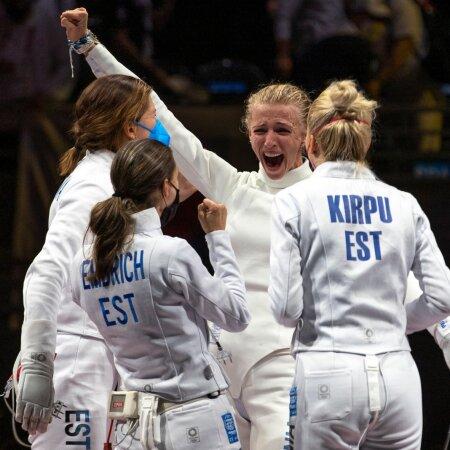 OTSEBLOGI JA FOTOD | 13 aastat ootust on läbi! Eesti võrratu epeenaiskond võitis Tokyos raskes lahingus KULLA!