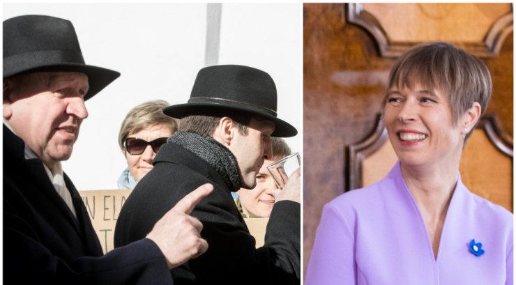 Sünkroontõlk Kaljulaidi ja EKRE konfliktist: presidendi