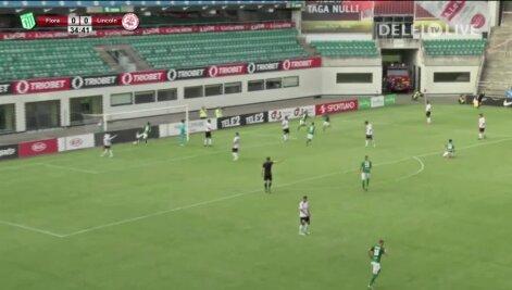 DELFI VIDEO: FC Flora ja Lincoln Red Imps kohtumise väravad