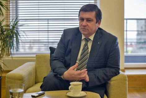 Keskkonnaminister Mati Raidma