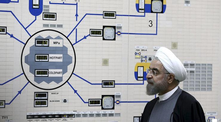 Iraan teatas tuumakokkuleppe mõnedest osadest taganemisest