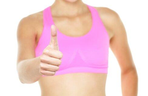 Spordirinnahoidja on kõige olulisem ese iga naise trennivarustuses: vali see treeningu intensiivsuse ja rinna suuruse järgi