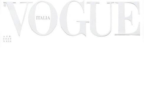 Itaalia Vogue'i aprillinumber ilmub valge esikaanega, mis sümboliseerib austust, vaikust ja meditsiinitöötajate vormide värvi