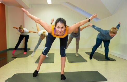 """""""Kord nädalas on soovitatav teha kindel harjutuste seeria. Ja lisaks treenida iga päev ka kodus,"""" ütleb treener-terapeut Inge Bachaus."""