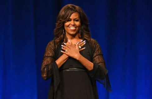 KLÕPS   Oi, kui kaunis! Michelle Obama postitas sünnipäeva puhul sotsiaalmeediasse meigivaba foto