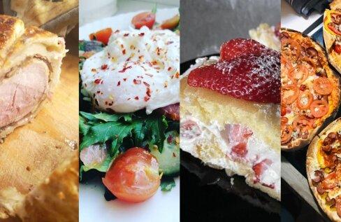 SUUR GALERII | Vaata, mida Eesti pered karantiiniajal kodus süüa teevad!